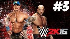 WWE 2K16 Kariyer - MEVZULAR - Bölüm 3