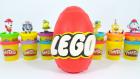 LEGO Oyun Hamuru Dev Sürpriz Yumurta | Yeşil Dev Hulk Demir Adam Örümcek Adam Süpermen Tom ve Jerry