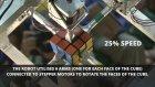 Dünyanın en hızlı zeka küpü çözen robotu