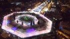 Avrupa'nın en büyük buz pateni pisti Moskova'da açıldı