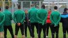 Bursaspor, Ersel Uzgur yönetimindeki ilk antrenmanını yaptı