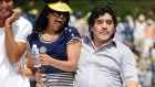 Çılgın dans Maradona'yı kovdurdu