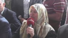 AKP Zonguldak Mitinginde Kendinden Geçen Teyze