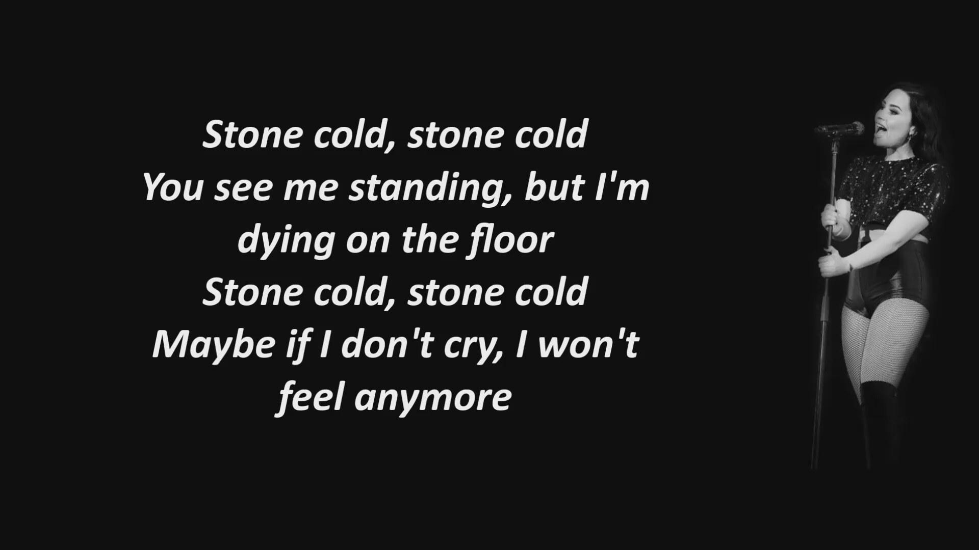 Demi Lovato Stone Cold - Lyrics (Şarkı Sözleri)