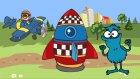Edi Blue bir roket yapmak istiyor - Eğitici çizgi film - Bulmaca oyunu
