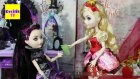 Ever After High - Apple White Ve Raven Queen Yurt Odası - Evcilik TV