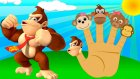 Five Little Monkeys Finger Family Şarkısı