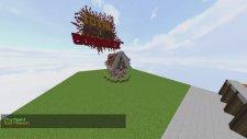 Minecraft DÜNYA KADAR BÜYÜK DAĞI PATLATIYORUZ! (Özel Harita)