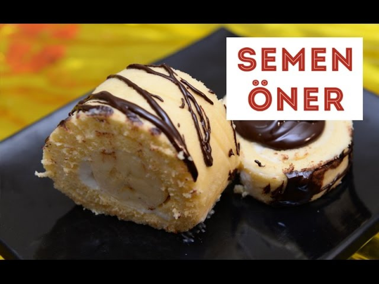 Muzlu Rulo Pasta Tarifi Videosu