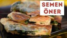 Tavada Ispanaklı Börek - Semen Öner