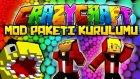 Türkçe Minecraft : Crazy Craft - Mod Paketi Kurulumu! (Detaylı Anlatım)