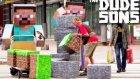Dudesons Ekibinden Kopma Garantili Minecraft'lı Şaka - Bölüm 4