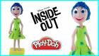 Ters Yüz Filminden Neşe Karakterinin Play-Doh Oyun Hamuru İle Yapılışı | Inside Out Joy