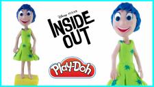 Ters Yüz Filminden Neşe Karakterinin Play-Doh Oyun Hamuru İle Yapılışı   Inside Out Joy