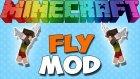 UÇMA MODU !! (FLY MOD , SURVIVALDA UÇMAK) - Minecraft Mod Tanıtımları #140