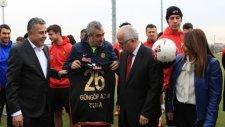 Eskişehirspor'a destek ziyareti