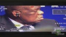 FIFA Başkanı basın toplantısında uyuyakaldı