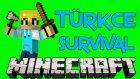 Minecraft-Türkçe-Survival-1-Ev!
