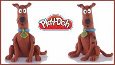 Scooby Doo | Play-Doh Oyun Hamuru ile Çizgi Film Karakteri Scooby Doo Yapılışı