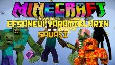EFSANEVİ YARATIKLARIN SAVAŞI! - Türkçe Minecraft Gökyüzü Savaşları! (Sky Wars)