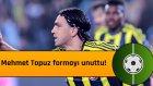 Mehmet Topuz formayı unuttu