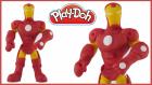 Demir Adam Iron Man | Play-Doh Oyun Hamuru İle Demir Adam Yapılışı