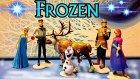 Frozen Oyuncak Seti-Elsa, Anna, Olaf ve Arkadaşları