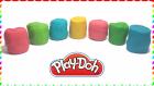 Play-Doh Oyun Hamurundan Rengarenk Sürpriz Yumurtalar | Hello Kitty Örümcek Adam Thomas Ben 10
