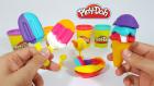 Play-Doh Oyun Hamurundan Dondurmalar | Oyun Hamurundan Magnum ve Cornet Yapımı