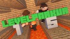 Minecraft 15 Level Parkur Haritası - Hepsini Tamamlayamadık !