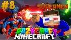 Süpermen Geri Döndü! (ÇELİK ADAM!) - Minecraft Crazy Craft : Bölüm 8