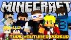 EN BÜYÜK TÜRK YOUTUBER PARKURU! - Minecraft Türkçe Parkur
