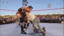 John Cena & Rey Mysterio & Randy Orton VS Wade Barret & The Miz