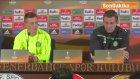 Ronny Deila ve Futbolcu Mcgregor Basın Toplantısı Düzenledi