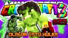 Olağan Üstü HULK!!   Türkçe Minecraft Crazy Craft   Bölüm 29