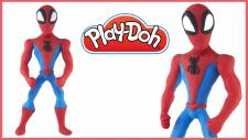 Spiderman Play-Doh - Oyun Hamuru İle Örümcek Adam Yapımı