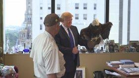Donald Trump'a Kartal Saldırması