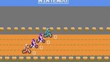 Excite Bike NES Oynanış - Tüm Bölümler