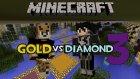 Minecraft: Gold vs Diamond Race V3 - Hileci Yıldız!