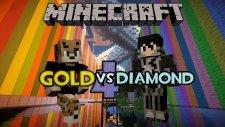 Minecraft: Gold vs Diamond Race V4 - Altın Çocuğuz Şeklimiz Yeter