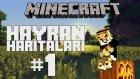 Minecraft: Hayran Haritaları - Bölüm 1 - MERDİVENLER :)))