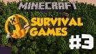 Minecraft: Hunger Games - Bölüm 3 - YİNE Mİ LAN :'(