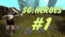 Minecraft - SG: HEROES - Kazandım la :D