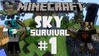 Minecraft: Sky Survival - Bölüm 1