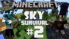 Minecraft: Sky Survival - Bölüm 2