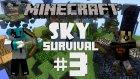 Minecraft: Sky Survival - Bölüm 3