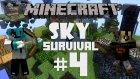Minecraft: Sky Survival - Bölüm 4