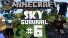 Minecraft: Sky Survival - Bölüm 6 - BU NASIL ELMA LAN :D