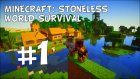 Minecraft: Stoneless World Survival - Bölüm 1
