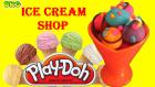 Play-Doh Oyun Hamuru ile Dondurma Yapımı